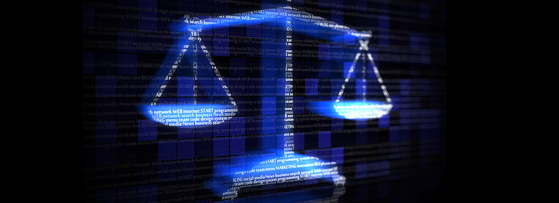 A digital image of a law scale