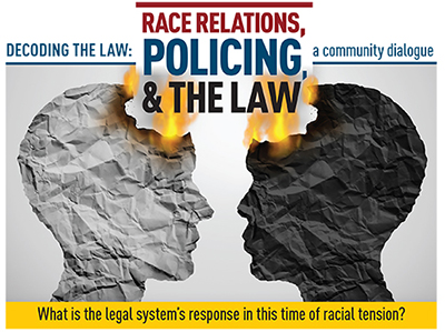 Decoding the Law Race Relations, Policing and the Law logo