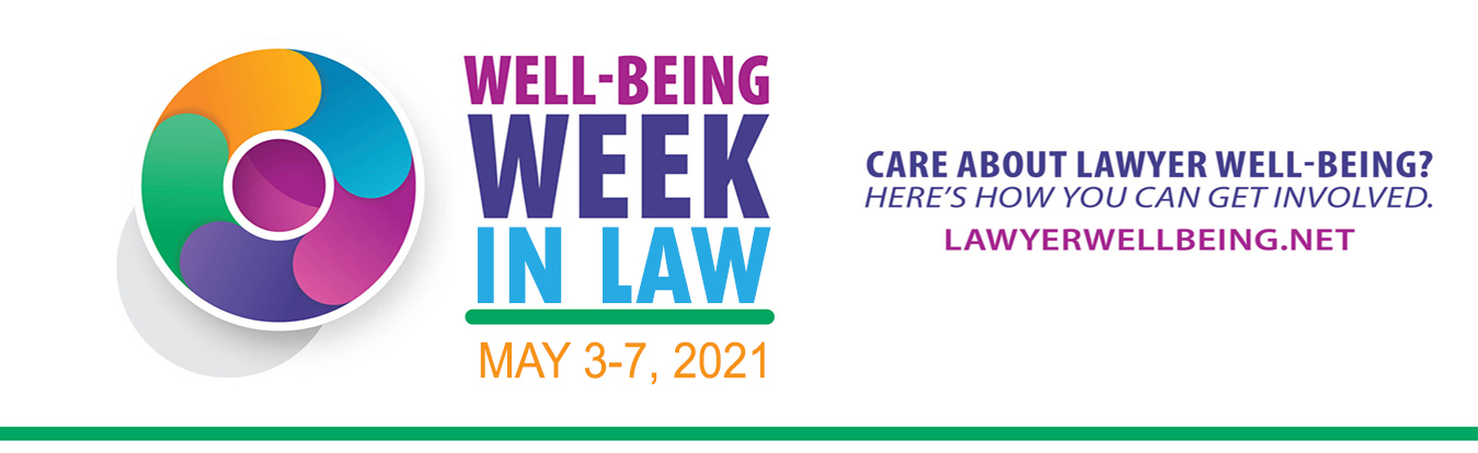 Law Well-Being hero graphic