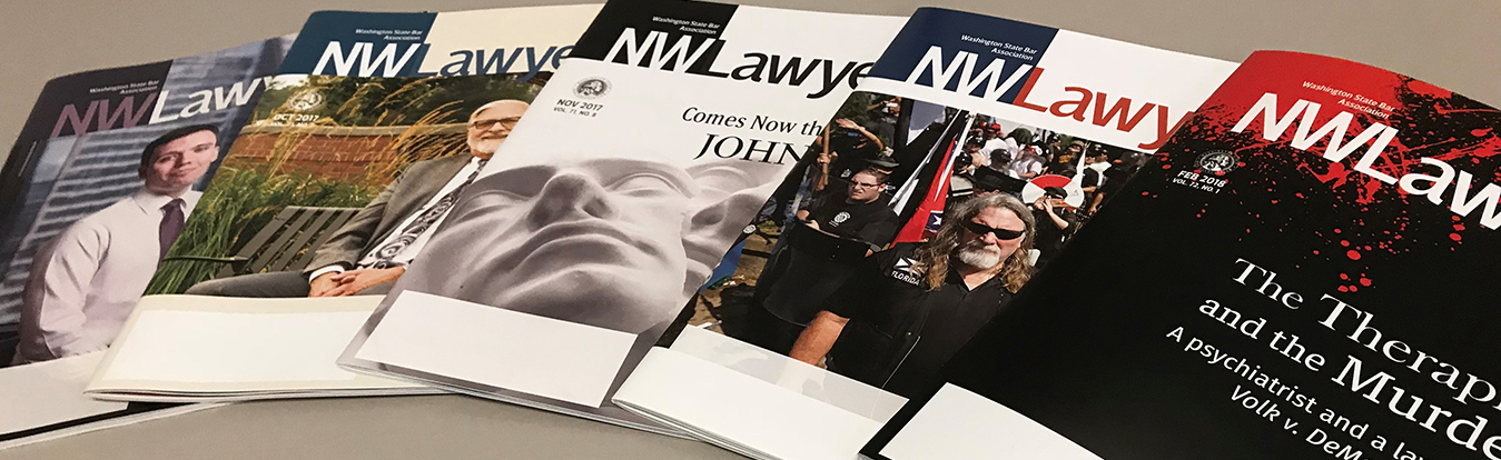 NWLawyer magazines