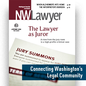 NWLawyer cover April-May 2018
