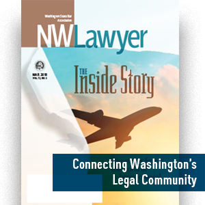 Cover of March 2018 NWLawyer