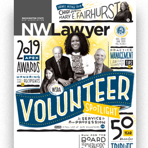 Cover the NWLawyer December 2019