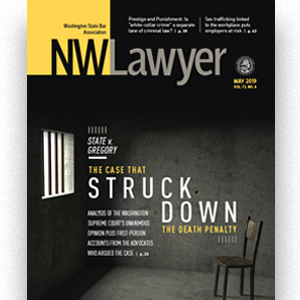 May 2019 NWLawyer cover
