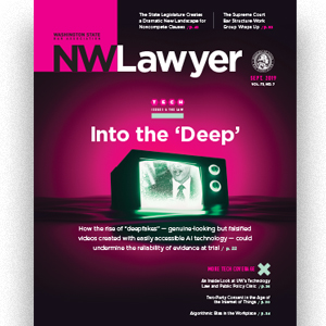 Cover of September NWLawyer