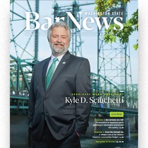 Bar News October 2020 cover