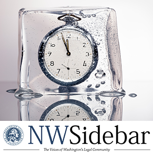 A frozen clock