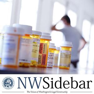 Medicine bottles on a table