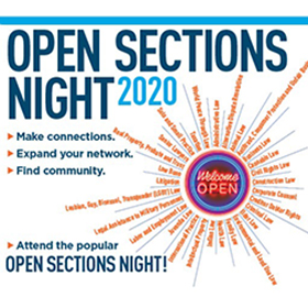Open Sections Night logo