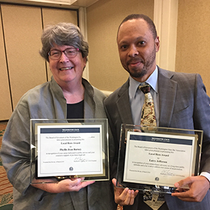 Phyllis Jean Barney and Larry Jefferson